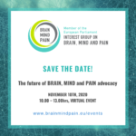 MEP Interest Group on Brain, Mind and Pain – upcoming meeting