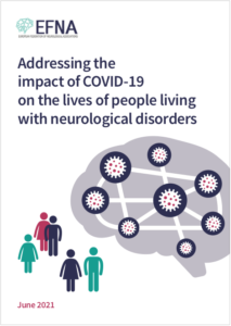 Addressing the impact of covid 19 on people living with neurological disorders