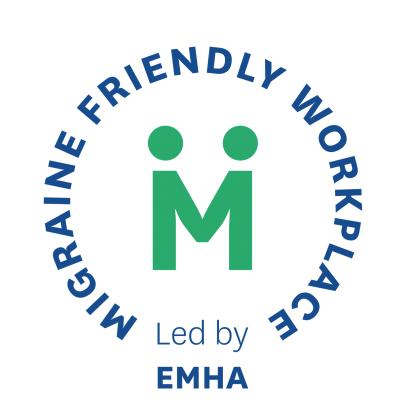 Migraine Friendly Workplace Stamp